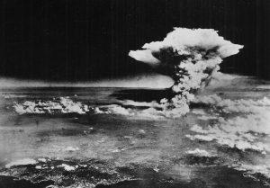 Hiroshima Atom Bomb Exploding